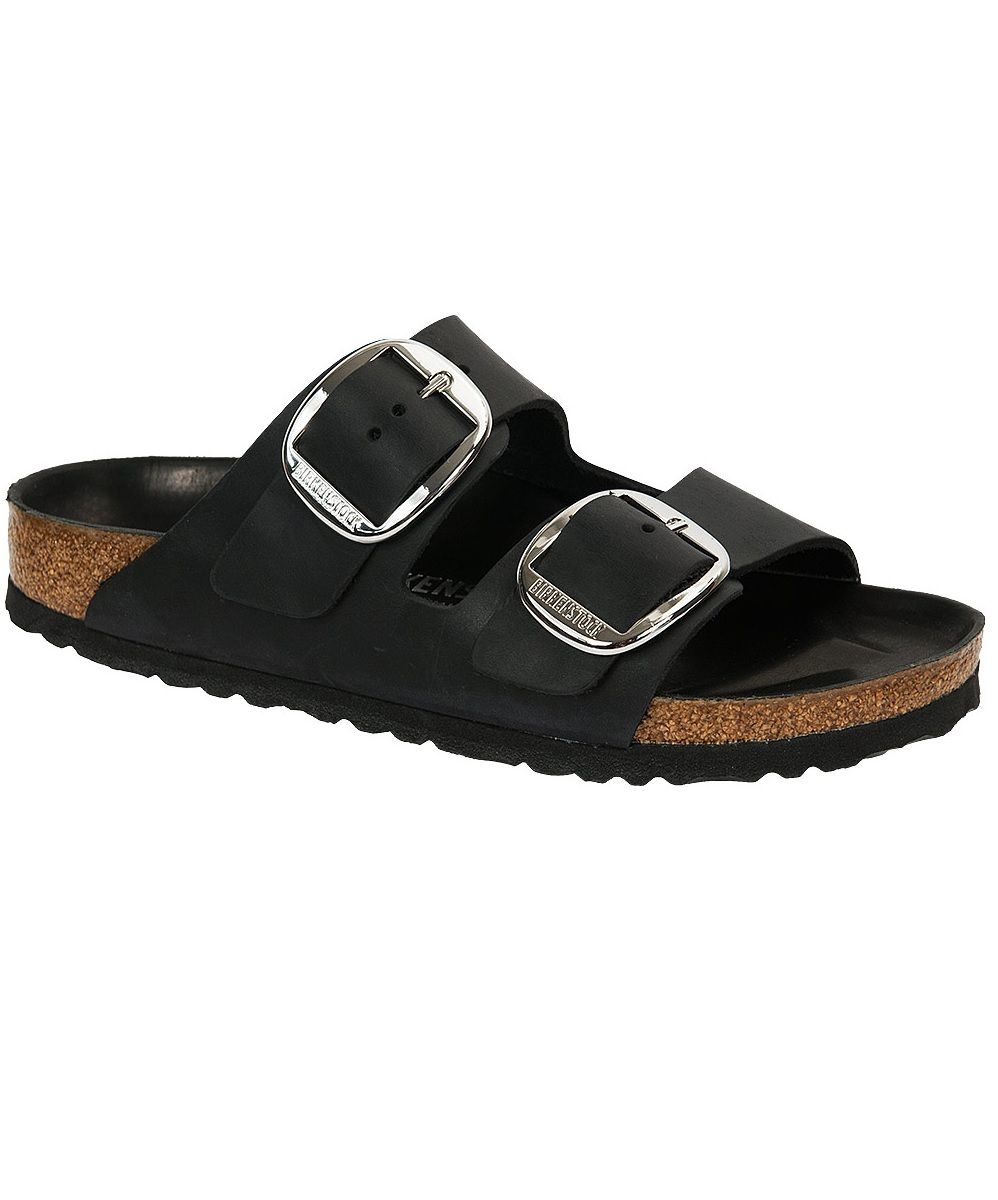 800c21149b9 Birkenstock Arizona Black Leather w Big Buckles and Leather Footbed Liner.  Limited Edition. Cork Footbed.  birkenstockexpress  birkexpress  birkenstock  ...