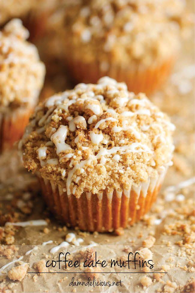 Bolo de Café Muffins - O bolo de café Clássico E transformado los hum bolinho Conveniente, Carregado com UMA migalha quilómetros de Altura Nenhuma t ...