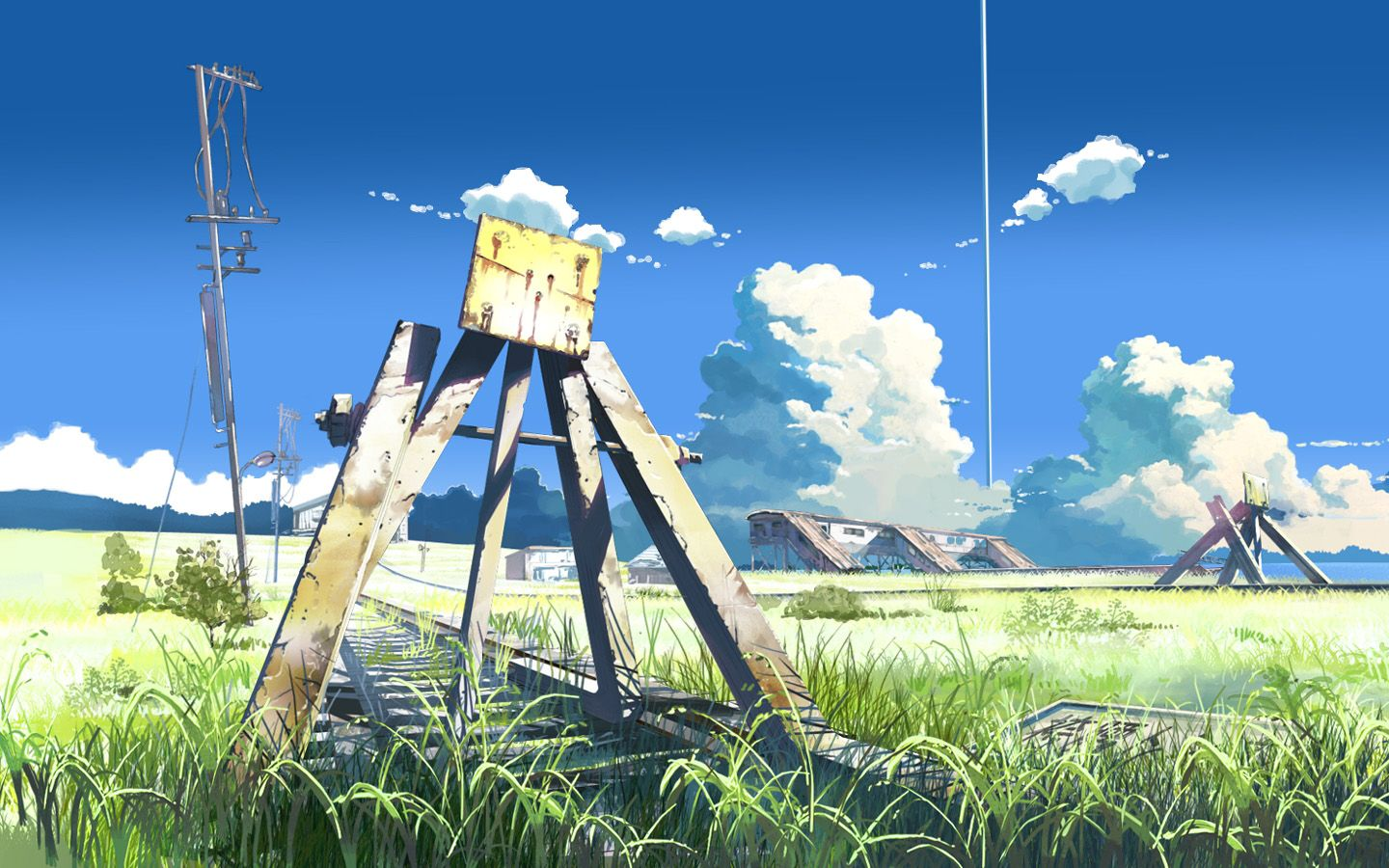 Idea By 航 青木 On Nostalgia Anime Scenery Wallpaper Scenery