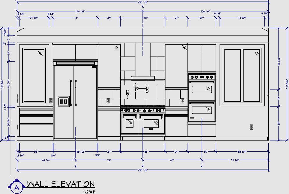 Kitchen Wall Elevation Kitchen Elevation Kitchen Designs Layout