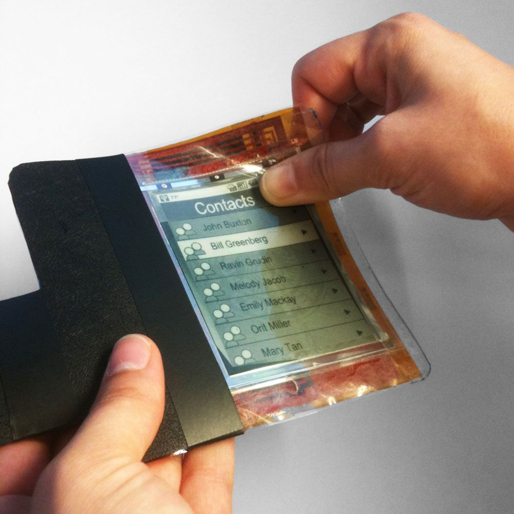Revolutionary new paper computer shows flexible future for smartphones and tablets. This computer looks,…