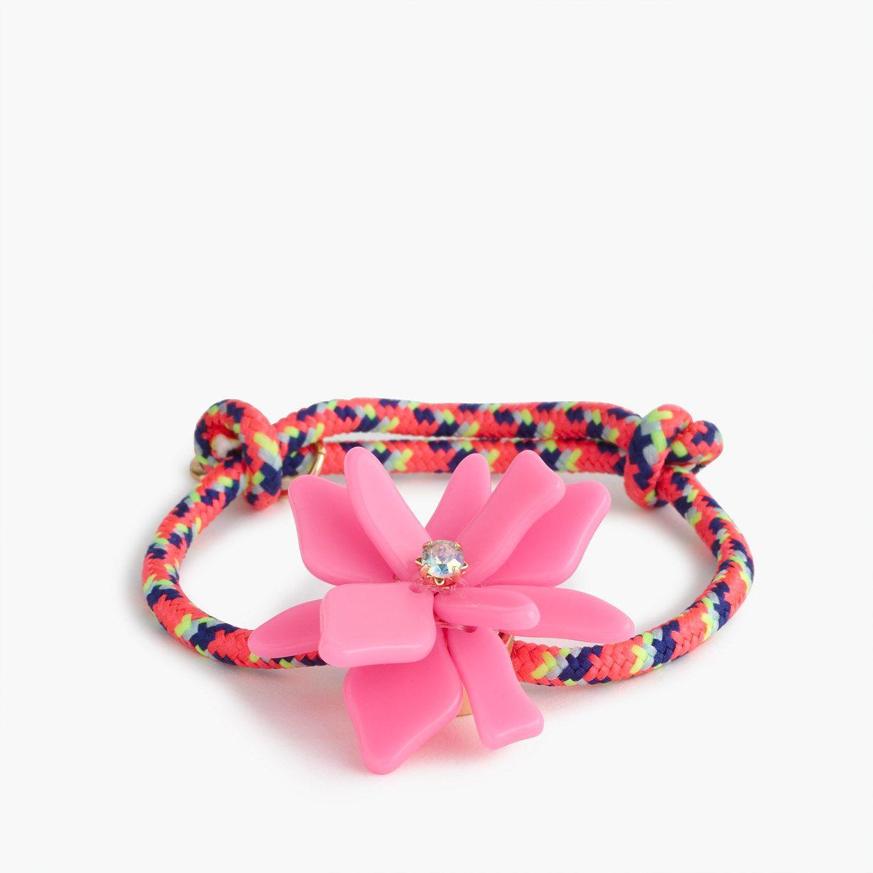 Crewcuts girls flower friendship bracelet products pinterest