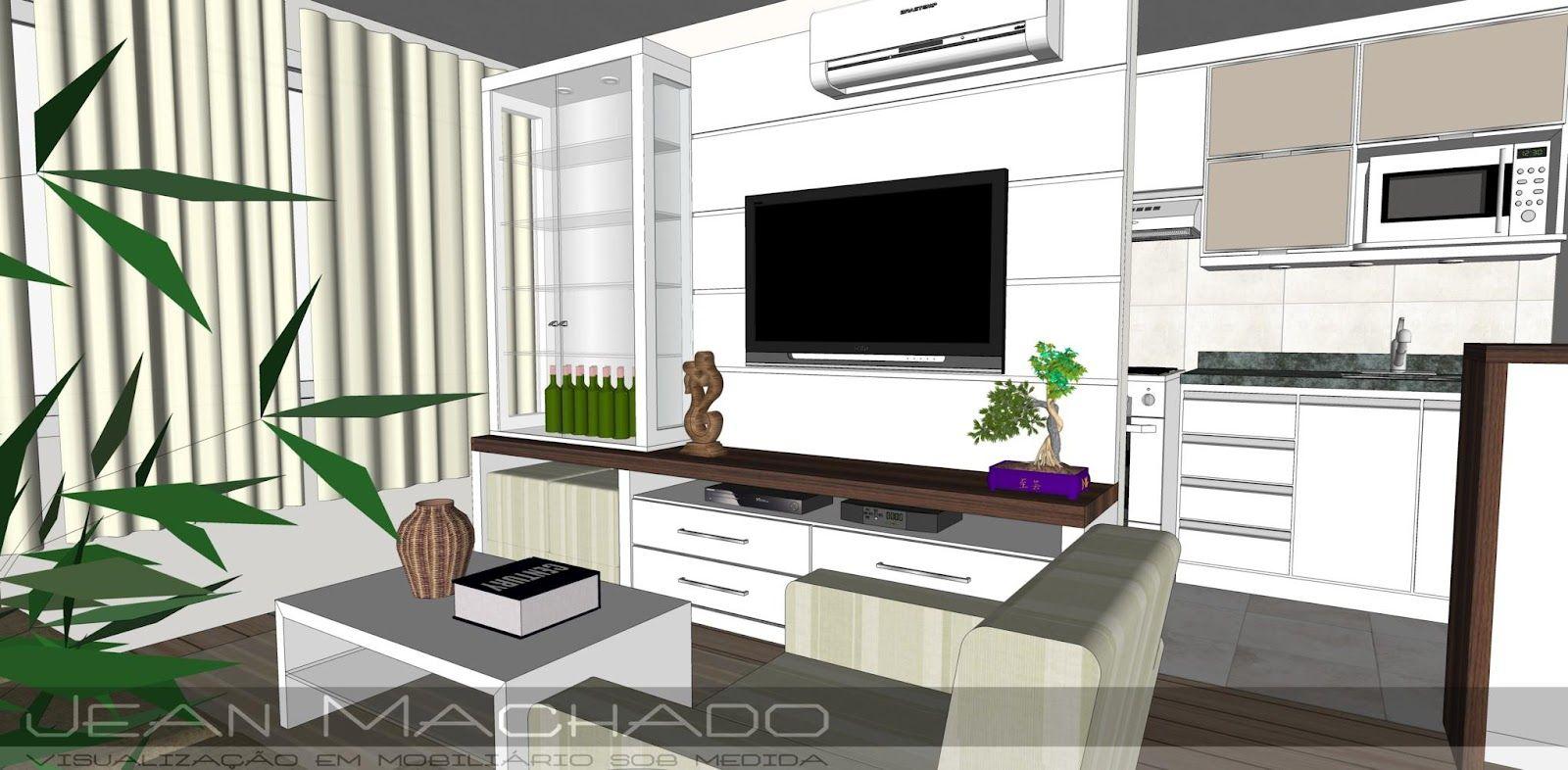 Home-entertainment-design-ideen estarcozinha  visualização em mobiliário sob medida furniture