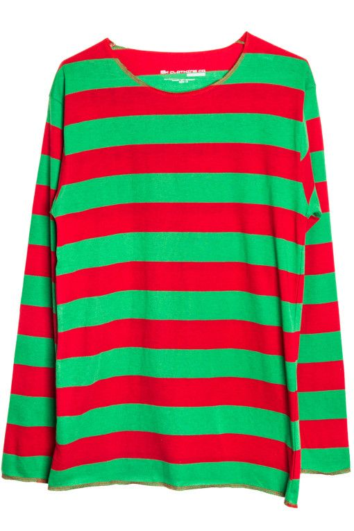 1e72219298e49 Our green and red striped shirt is only  11.99 and as a bonus you also have  a shirt ready for Christmas!