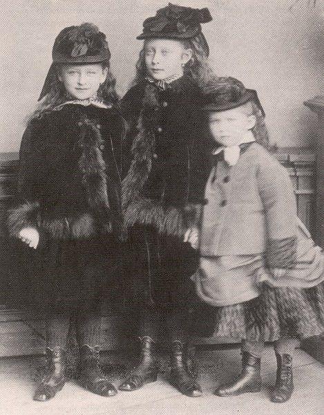 Princess Elisabeth, Princess Victoria and Princess Irene of Hesse.