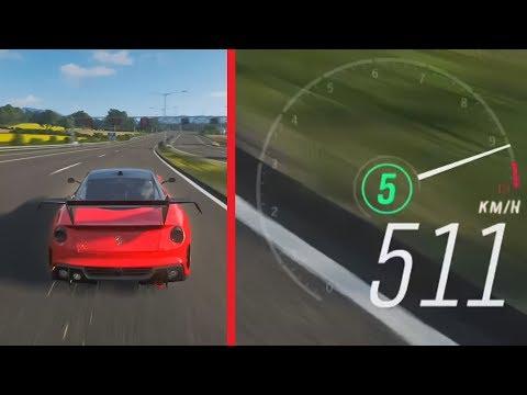 Fastest Car In Forza Horizon 4 Ferrari 599xx Evolution 500 Km H Youtube Fast Cars Forza Horizon 4 Forza