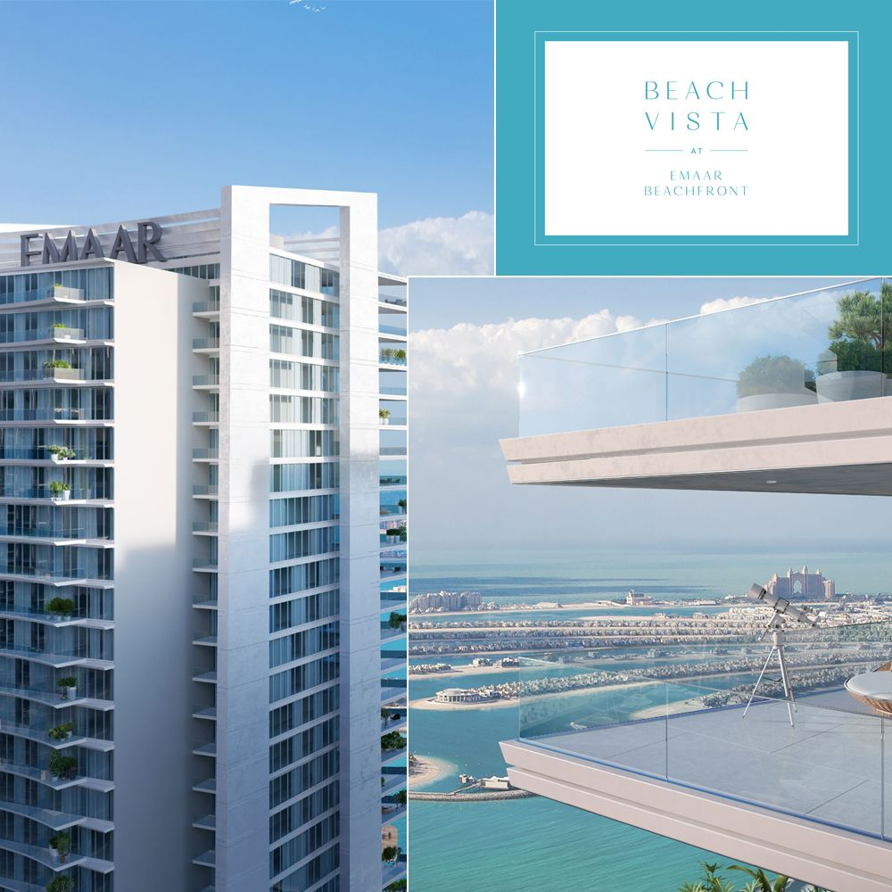 Apartments Rising Near Vista Hermosa Park: Launching Soon! Beach Vista At Emaar Beachfront