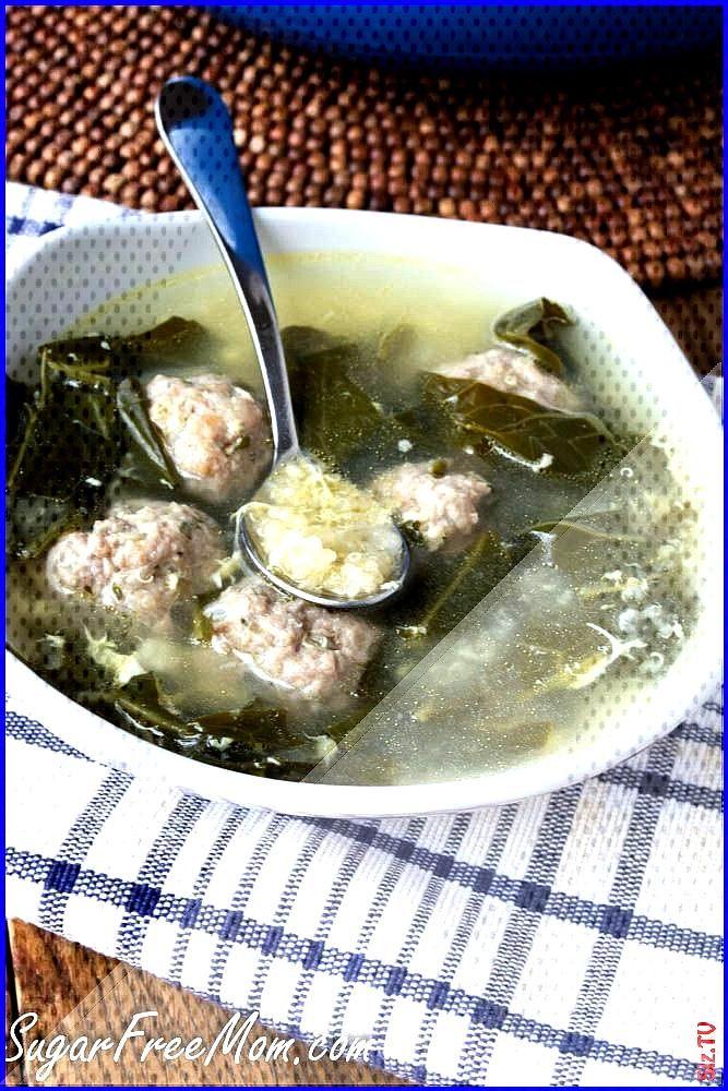 Lightened Up Italian Wedding Soup with Quinoa italian lightened quinoa Soup wedding - italianweddi