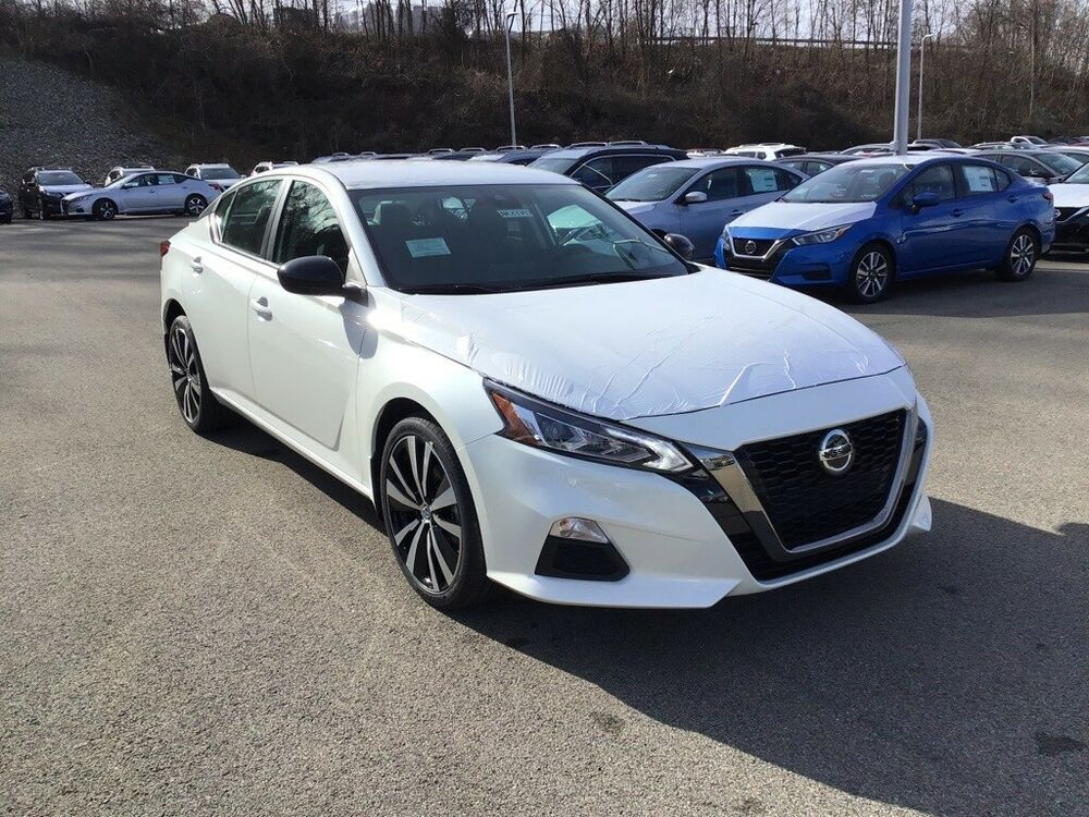 2020 Nissan Altima 2 5 Sr Pearl White Nissan Altima With 5 Miles Available Now In 2020 Nissan Altima Altima Nissan