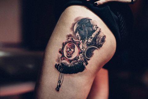 Gears of war ink | Pins&Needles | Pinterest