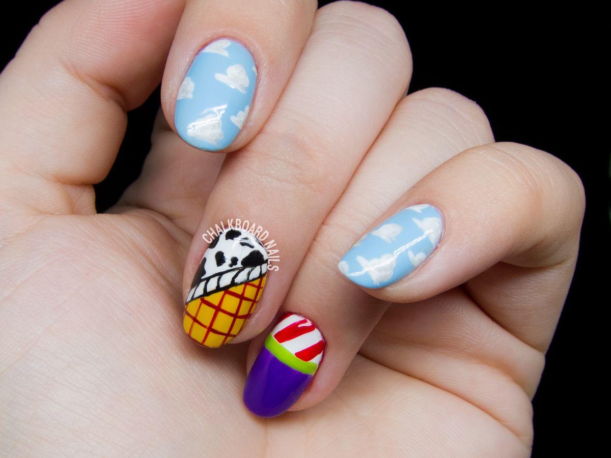 This Disney Nail Art is Seriously Impressive | Disney nails art ...