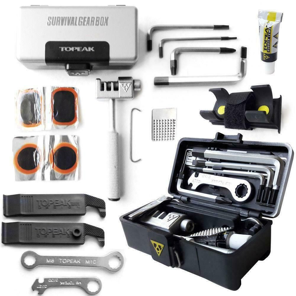 Sponsored Ebay Topeak Survival Gear Box 17 Tools Mtb Mountain
