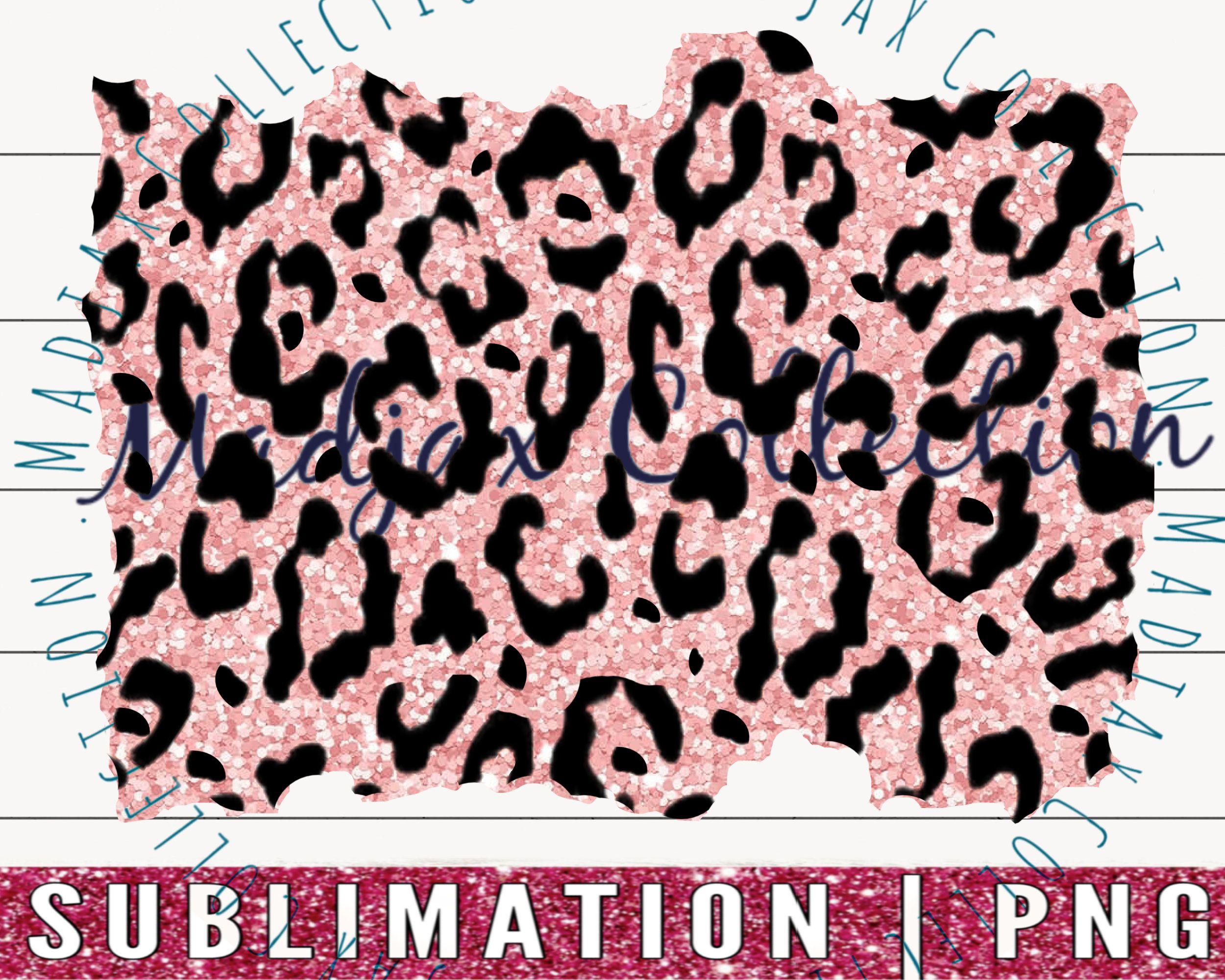 Baby Soft Pink Leopard Png Sublimation Background Glitter Etsy Animal Print Wallpaper Clipart Design Clip Art