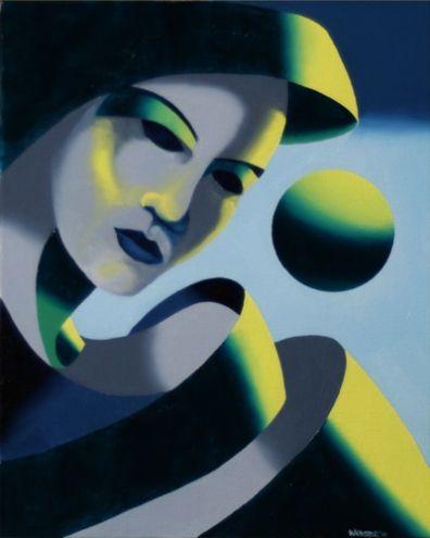 Mark Adam Webster - Dark Matter Painting Series #2 -- Mark Adam Webster