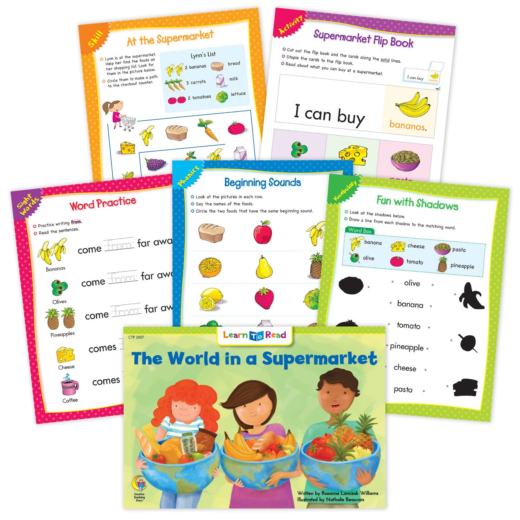 The World In A Supermarket Ebook Amp Worksheets Creative