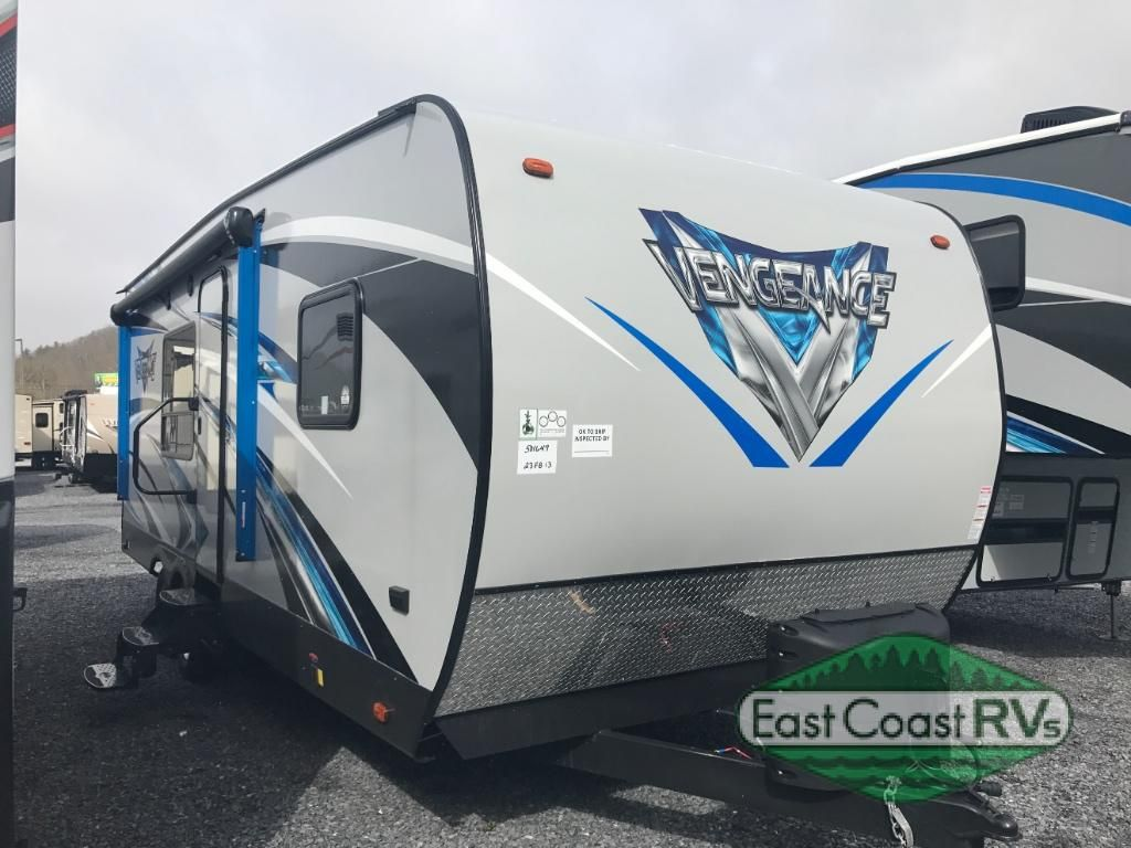 New 2018 Forest River Rv Vengeance 23fb13 Toy Hauler Travel Trailer At East Coast Rv Specialists Bedfo Toy Hauler Travel Trailer Forest River Rv Forest River