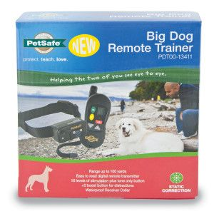 Petsafe Big Dog Remote Trainer Remote Training Petsmart Big Dogs Pet Trainer Dogs