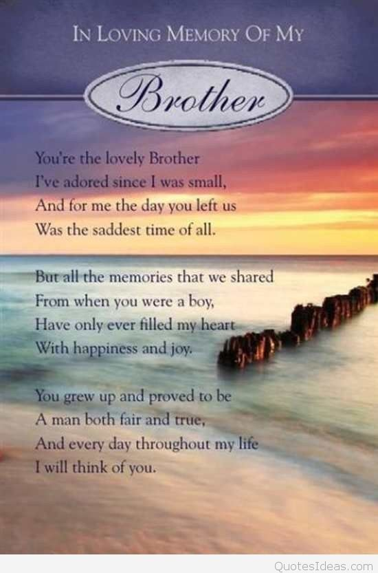 Birthday Wishes In Heaven For Brother Birthday Wishes Brother