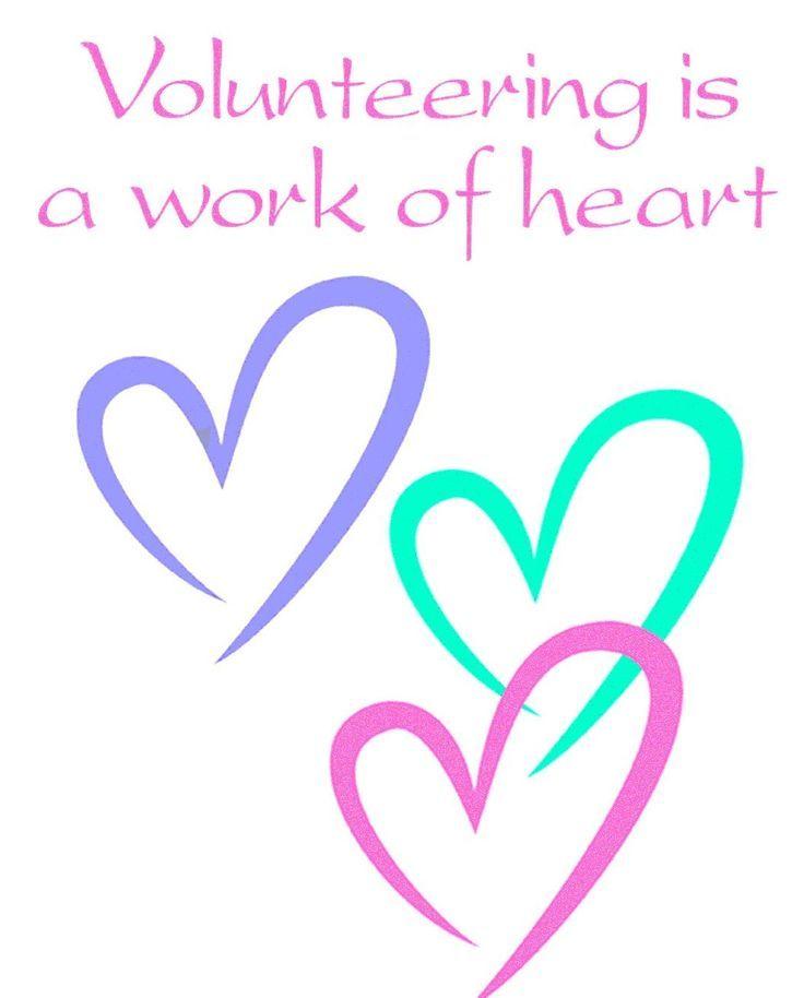 Volunteer Appreciation Quotes Entrancing Volunteering Is A Work Of Heart  Kindness Rocks  Pinterest
