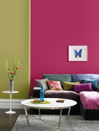 Fuchsia Pink Sage Plum Burgundy Blue Color Scheme For Playroom