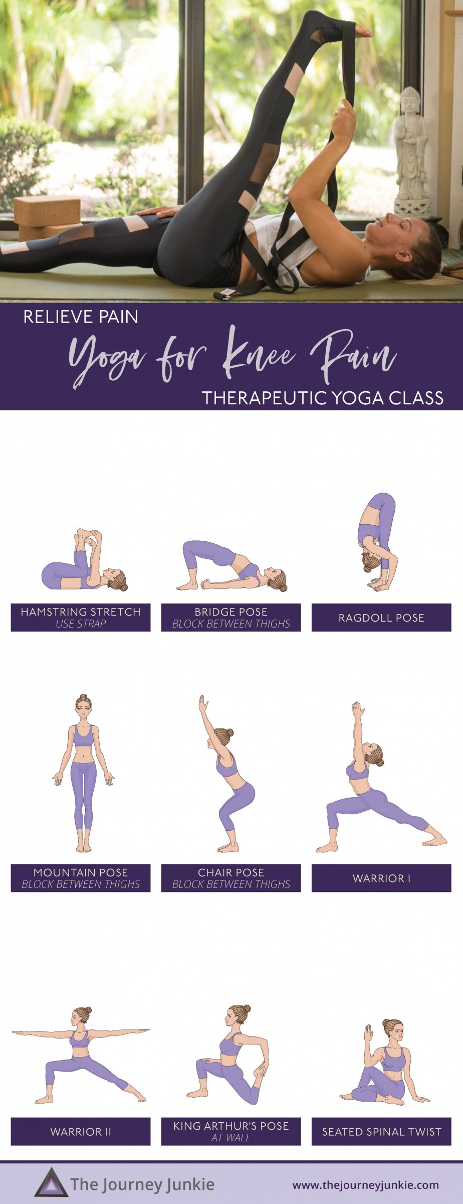31++ Yoga poses for knee pain trends