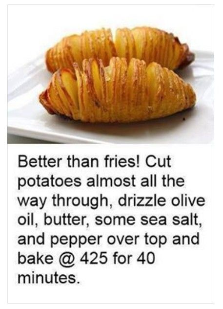 Better than fries - the new baked potato