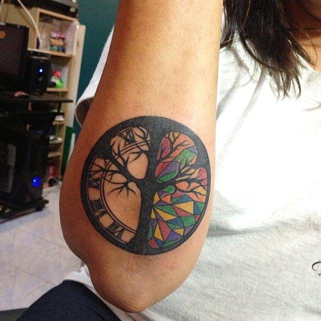 peace sign tattoos Más