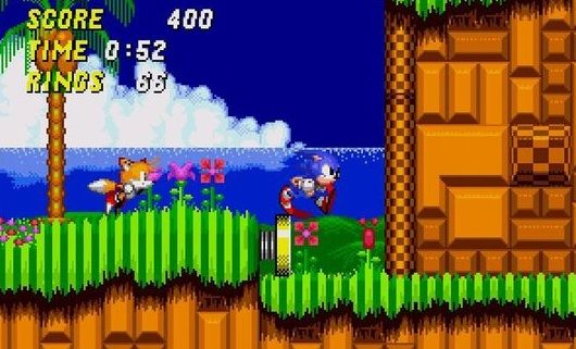 Color Palettes Of Video Games Sonic The Hedgehog 2 1992 Video Game Characters Best Games Game Sonic