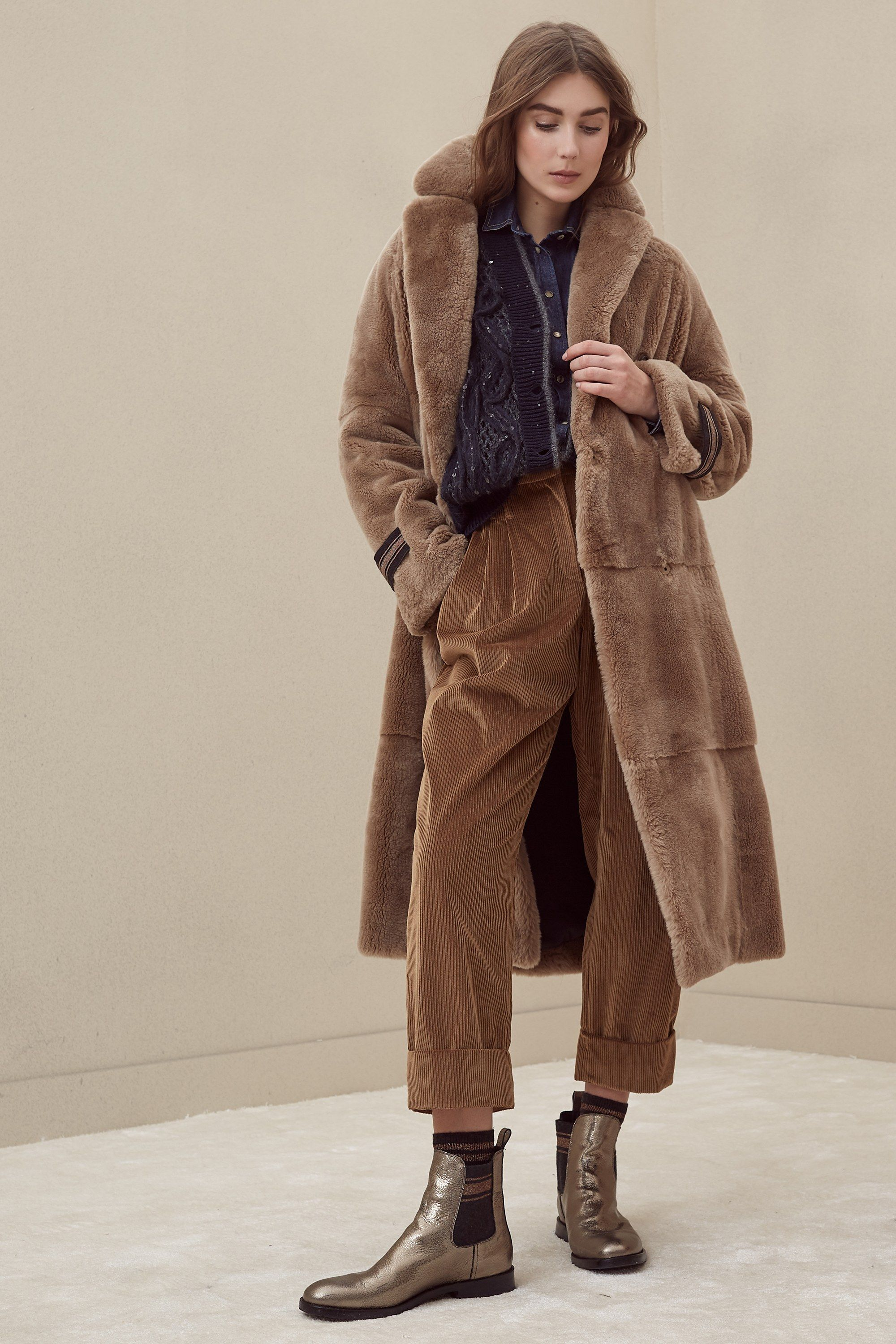 Brunello Cucinelli Fall 2018 Ready-to-Wear Collection - Vogue Settimana  Della Moda Di 75c353f0cda