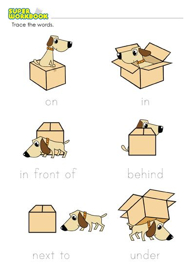 Prepositions Of Place Worksheet: Printable Preposition ...