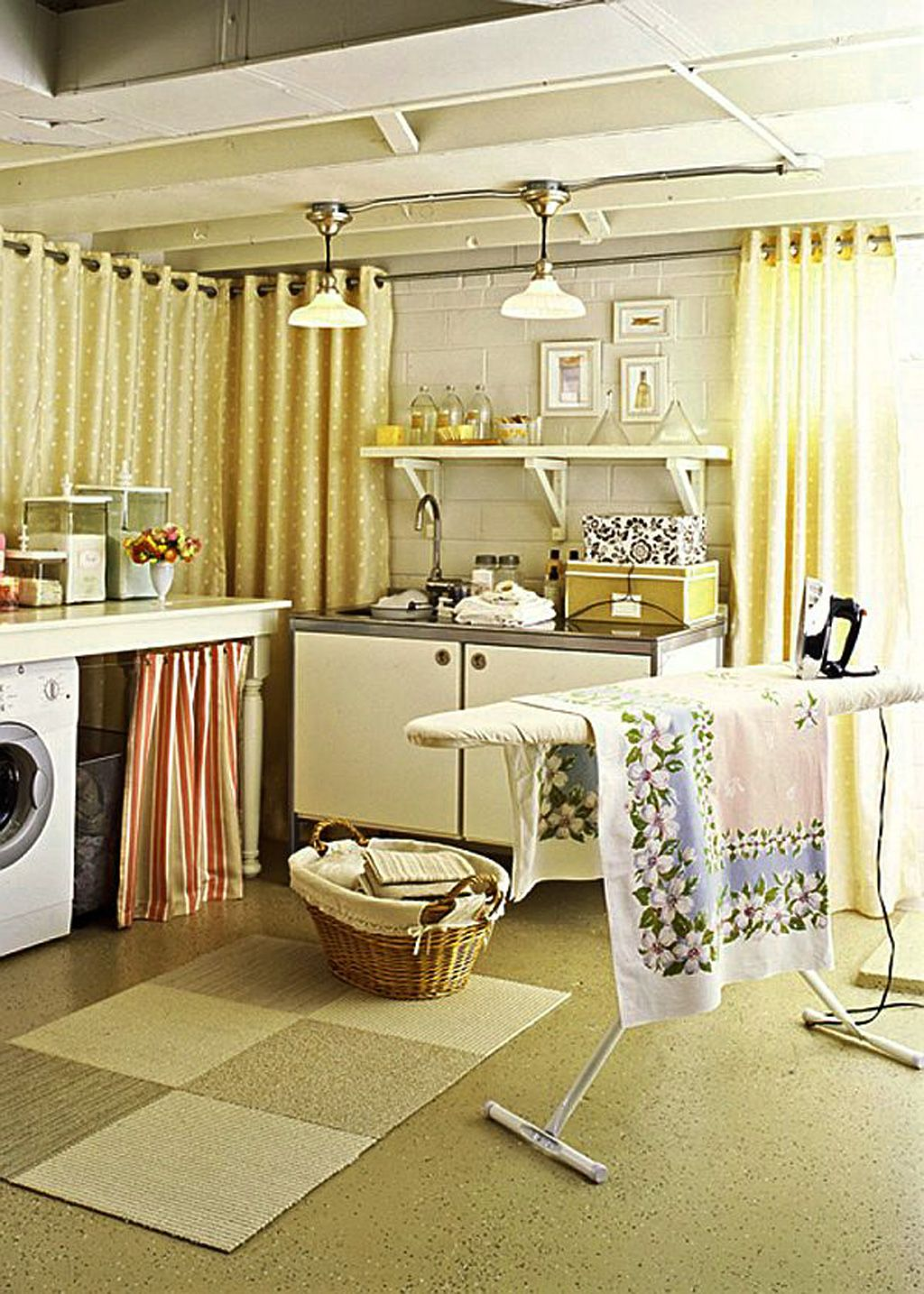 14 Basement Laundry Room ideas for Small Space (Makeovers ...