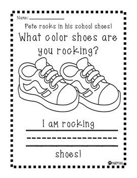 Rocking In My School Shoes Writing Pete The Cats Pete The Cat