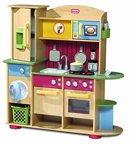 Little Tikes Premium Cooking Creations Wood Kitchen Co Uk Toys