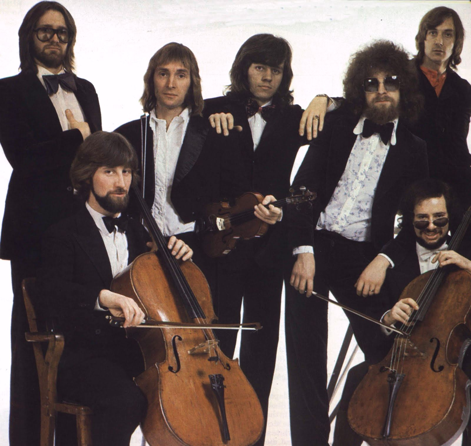 Electric Light Orchestra Roy Wood Jeff Lynne Bev Bevan