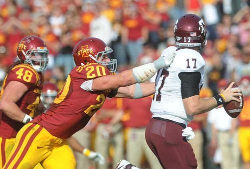 Iowa State Linebacker Jake Knott Leads A Unit That May Rank Among