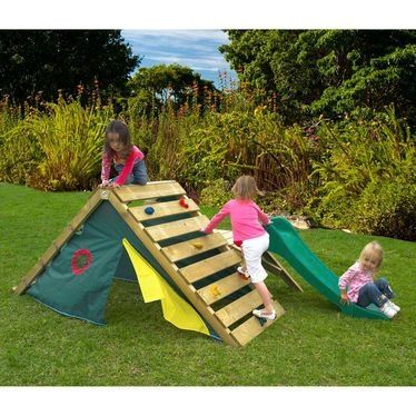 Outside Play Structure Climb Over Play Under Awesome By Gayle Diy Kids Playground Kids Outdoor Play Backyard For Kids