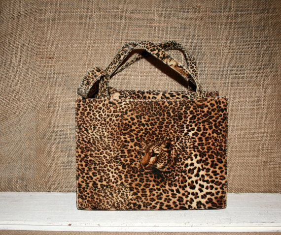 Animal Print Purse Leopard Cheetah African Tribal Jungle Theme Edgy Velvet Grunge Vintage Bags And Purses Handbags