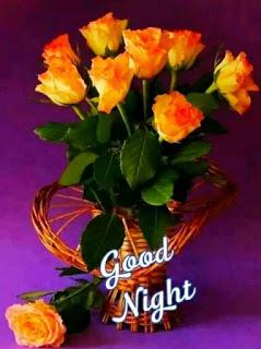 Dla Kazdego Good Night Good Night Flowers Good Night Wishes Good Night Image