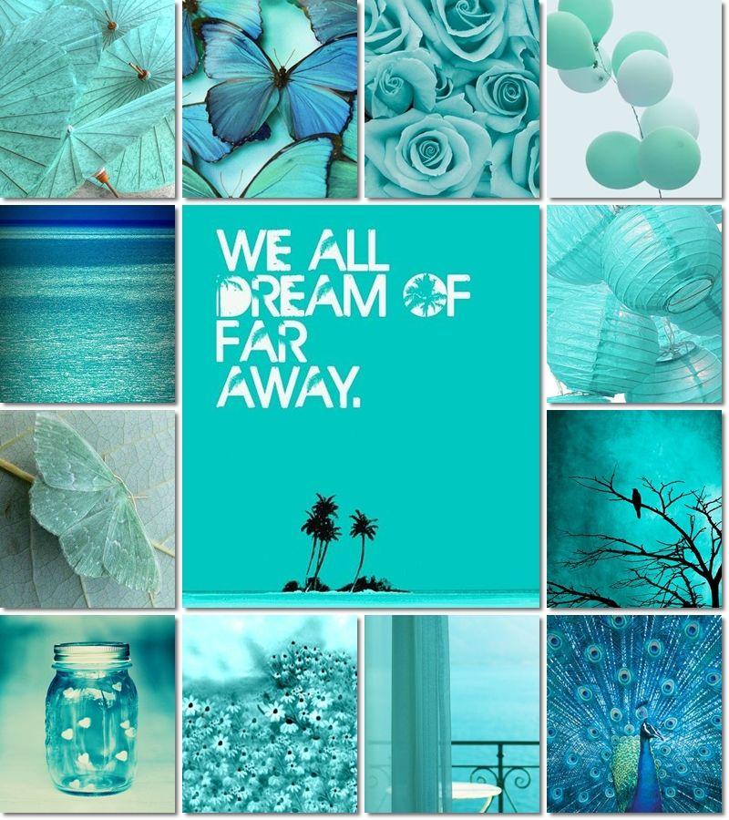 moodboard by AT | Colores verde azulado, Color turquesa y ...