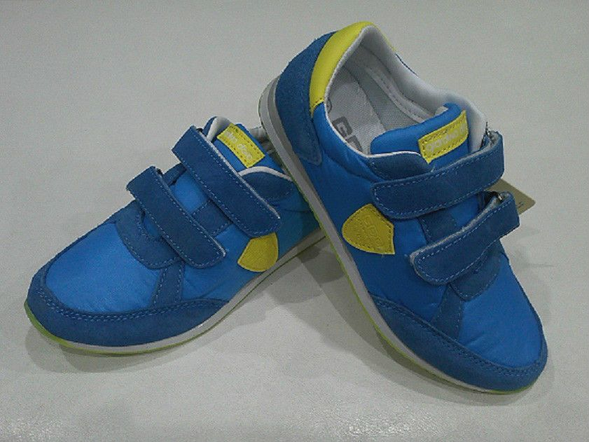 Giardino D oro Kids Boys Sport Shoes Sneakers or Casual Blue Velcro Sneakers d77afdba4