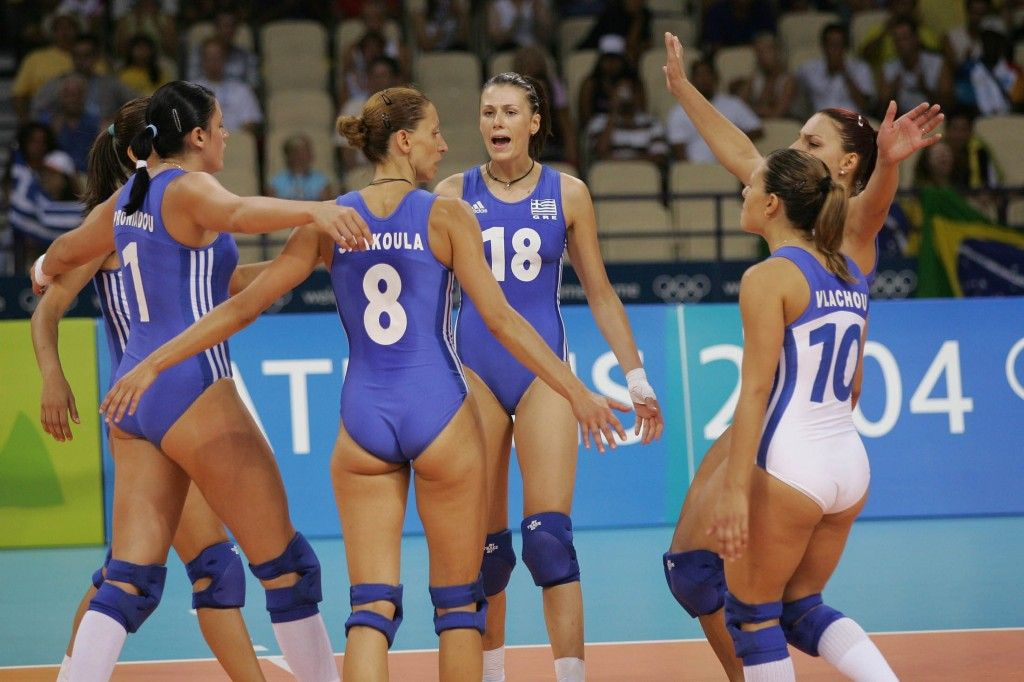 Pin On Ultra Sexy Volleyball Girls