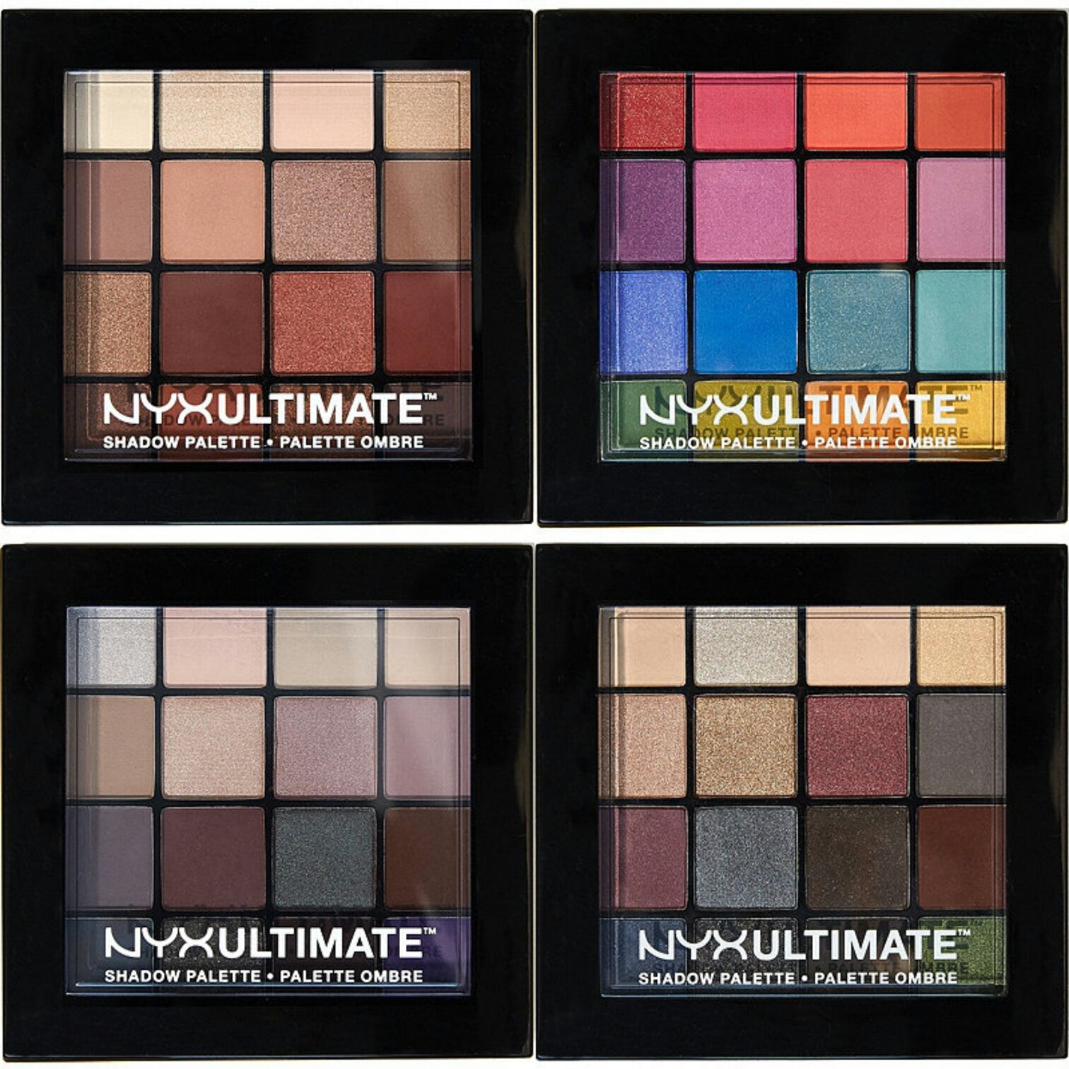 Nyx Ultimate Shadow Palette Swatches Nyx cosmetics