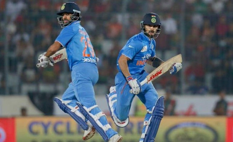 Asia Cup 2016 Dhoni Finishes With A Six Again Twitter Explodes To Celebrate The Title With Images Asia Cup Cup Final Bangladesh