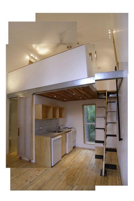 Alternating Tread Stair Built In House For 20k Loft House Design Loft House House Plan With Loft