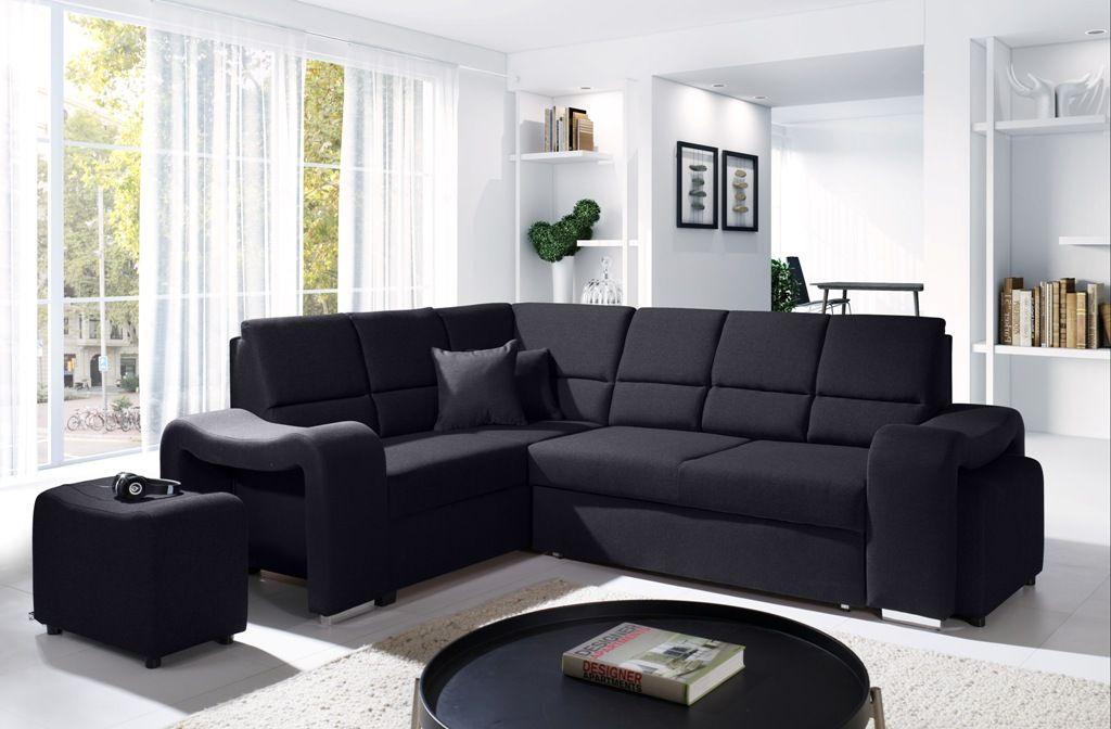 Bequemes Ecksofa \u0027MAYA\u0027 - TV-Sofa Große Farb- und Materialauswahl