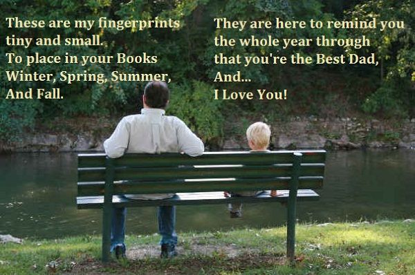 Fathers Day Poems -