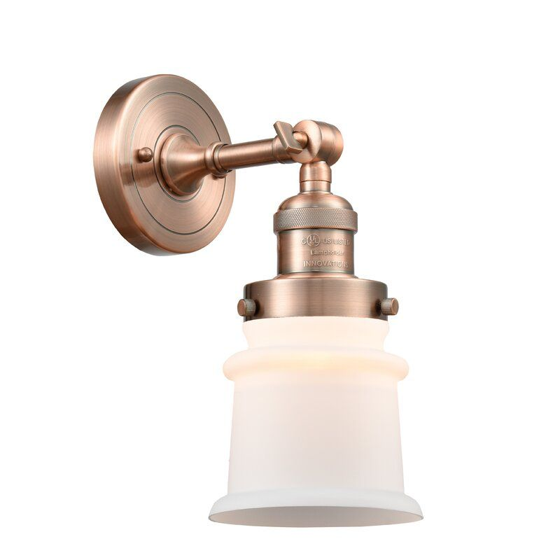 Photo of Aanya Small Canton 1-Light Armed Sconce