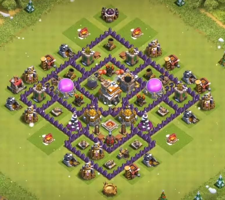 35 Best Town Hall 7 Hybrid Bases 2020 New Clash Of Clans Clash Of Clans Hack Clan