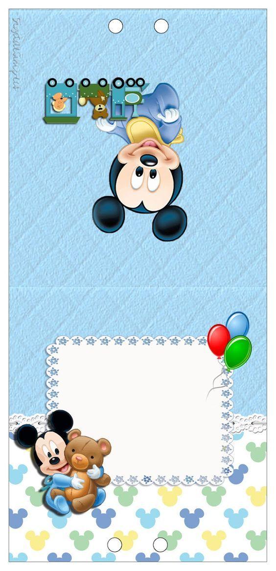 Pin De Nancy En Nancy Cumpleaños Mickey Bebe Cumpleaños