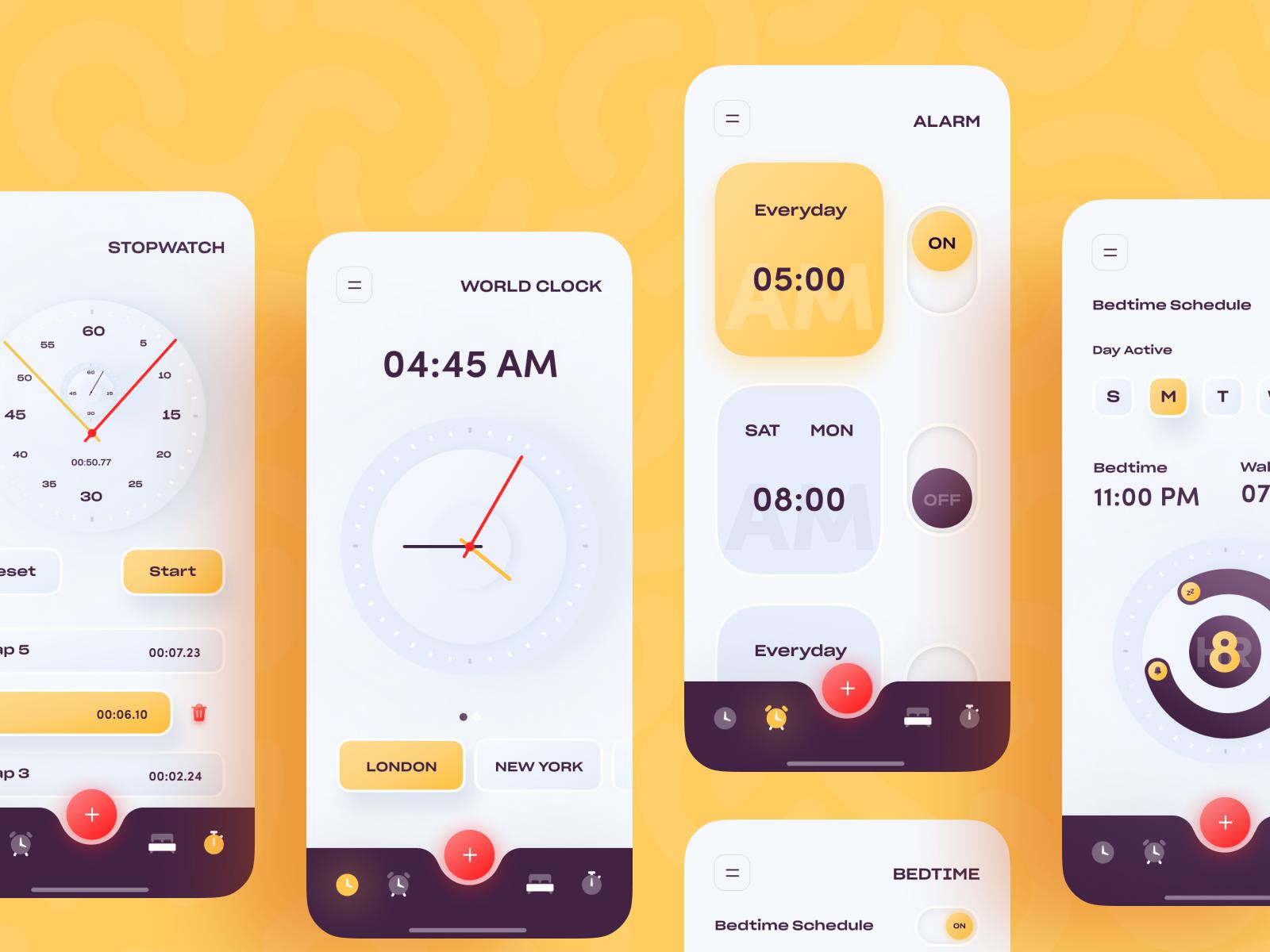 iOS Alarm Clock App in 2020 (With images)